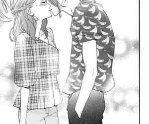 couple, monochrome, and shoujo image