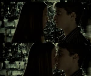 bonnie wright, harry potter, and kiss image