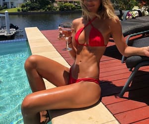 abs, model, and summer image