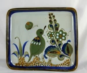 decorative, etsy, and stoneware pottery image