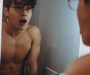 asian, glasses, and guy image