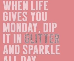 glitter, good day, and monday image