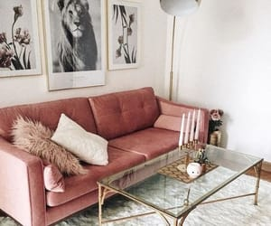 home, pastel, and living room image