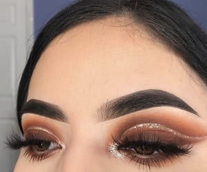 beauty, brown, and brown eyes image