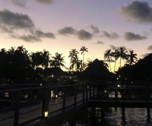 bora bora, vacation, and view image