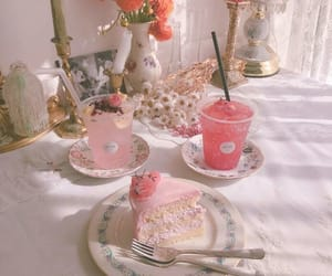cake, candle, and dessert image