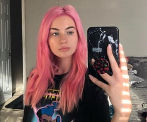 girl, kennedy, and pinkhair image