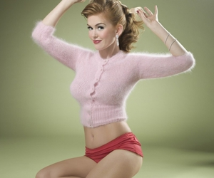 isla fisher and Pin Up image