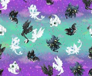 background, dragons, and kawaii image