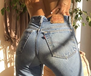 body, denim, and girl image