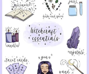 candles, crystals, and herbs image
