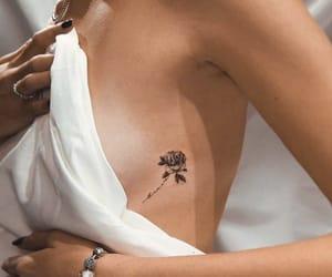girl, tatuaggio, and tattoo image