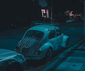 aesthetic, car, and night image