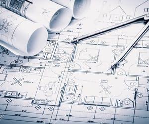 architect, architecture, and Blueprint image