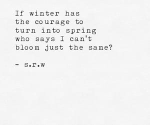 spring, quotes, and winter image
