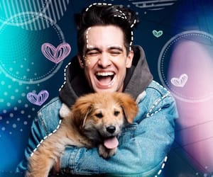 brendon urie, sarah urie, and panic at the disco image