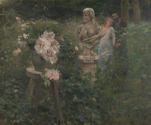 aesthetics, art, and couple image