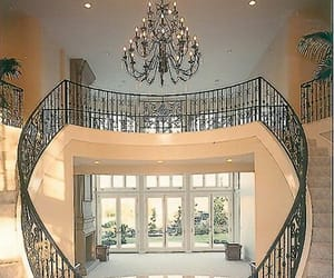 home, interior, and stairs image