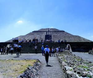 culture, méxico, and pirámides image