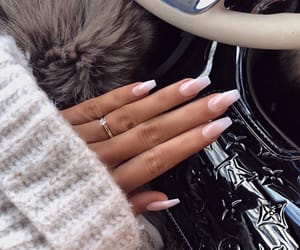nails, girl, and inspiration image