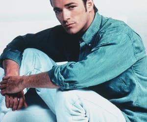 luke perry and beverly hills 90210 image
