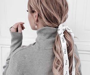 dior, fashion, and hair image
