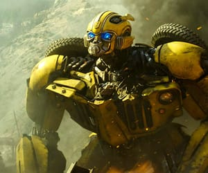 bee, movie, and transformers image