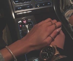 accessories, couple, and nails image