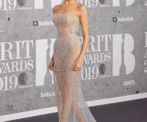 dress, red carpet, and madison beer image
