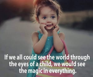 child, magic, and love image