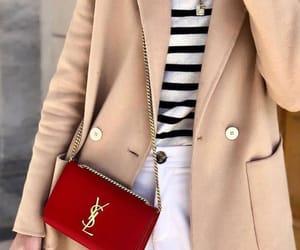 bag, coat, and fashion image