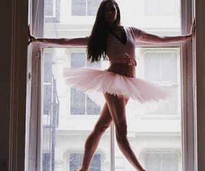 ballet, girl, and tutu image