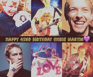 hb, Chris Martin, and coldplay image