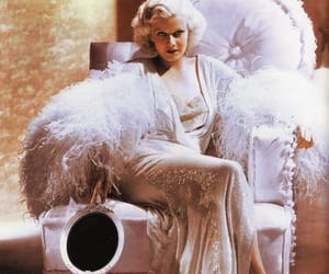 jean harlow and pink image