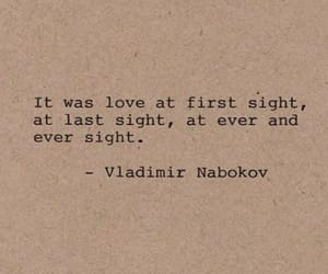 love at first sight, qoute, and qoutes image