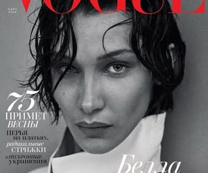 bellahadid and voguerussia image