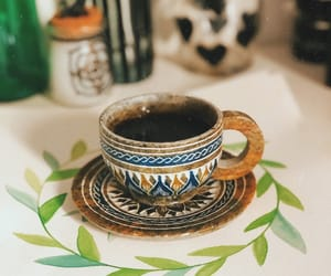 boho, coffee, and cold image