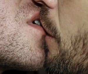 gay, kiss, and love image