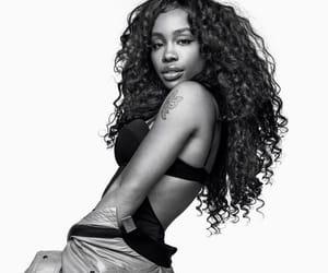 b & w, black girl, and singer image