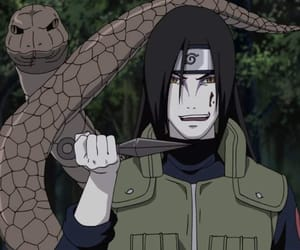orochimaru, anime, and naruto image