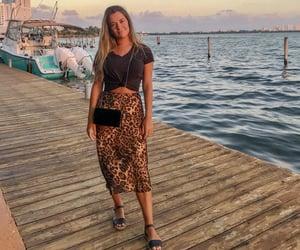 animal print, blogger, and fashion image