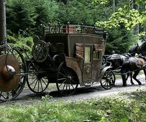 carriage, design, and movie image