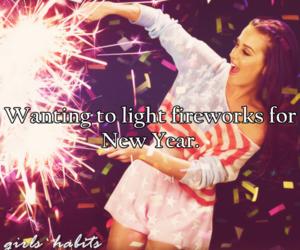 firework, fireworks, and girl image