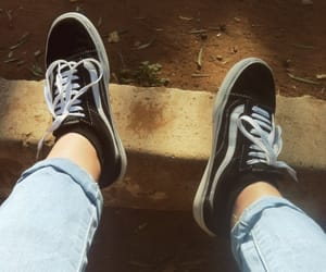 jeans, shoes, and sneakers image