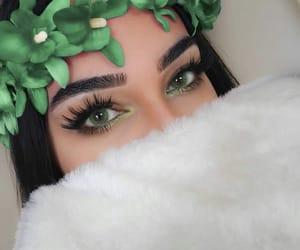 cool, eyeliner, and eyeshadow image