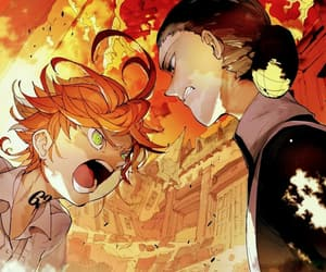 emma, yakusoku no neverland, and the promised neverland image