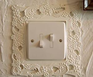 cream, interior, and switch image