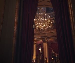 chandelier, luxury, and chic image