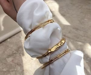 accessories, style, and gold image