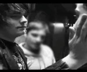 b&w, mcr, and mikey way image